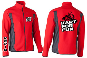 site KFF Softshell rouge